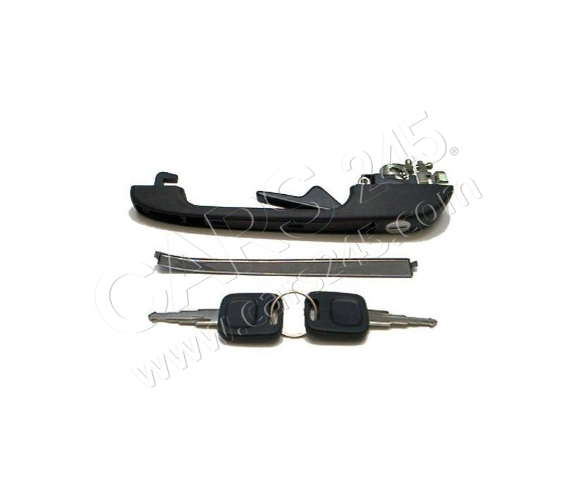Door Handle AUDI 100 (44), 82 - 90 Cars245 R813837205CL