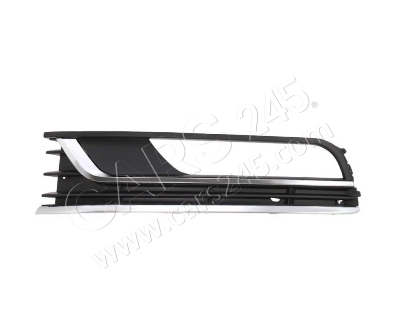 Bumper Grille VW PASSAT (B7, EURO TYPE), 11 - 14, Right Cars245 PVW99061CBR main