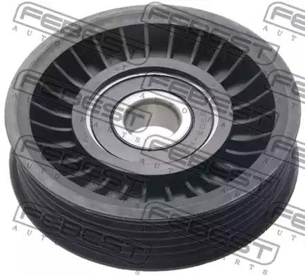 Deflection/Guide Pulley, v-ribbed belt FEBEST 2188F450