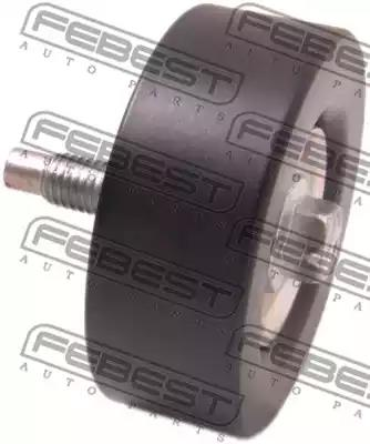 Deflection/Guide Pulley, v-ribbed belt FEBEST 2188FOCIM