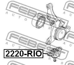 Ball Joint FEBEST 2220RIO 2