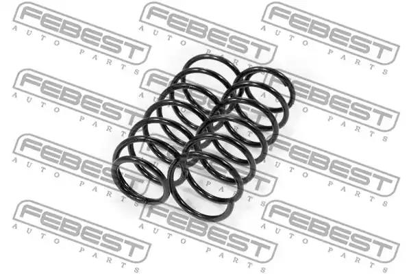 Suspension Kit, coil springs FEBEST 2308012FKIT