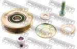 Tensioner Pulley, v-ribbed belt FEBEST 0387CRV