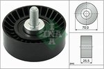 Deflection/Guide Pulley, v-ribbed belt INA 532054510