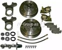 Brake Set, disc brakes JP Group 8163300210