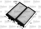 Filter, interior air VALEO 715566