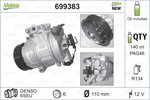 Compressor, air conditioning VALEO 699383